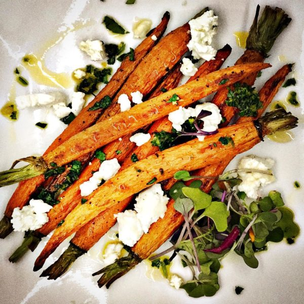 Roasted Baby Carrots