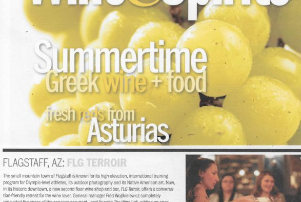 FLG Terroir Wine Bar & Bistro in W&S Magazine